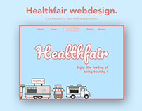 Healthfair webdesign