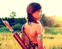 """The Native American Princess"" - Icarus Series"