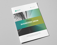 Corporate Business Brochure 20 Pages Vol.02