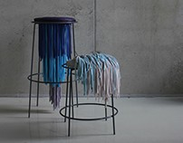 MEDUSA - Chairs made from recycled textile materials