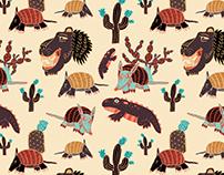 Sand Animals Pattern