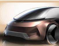 Kia_Autonomous family van