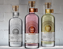 Led Craft Gin / Branding & Packaging Design