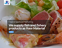 Seafood website design