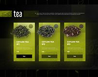 WEB-DESIGN: ceylon tea