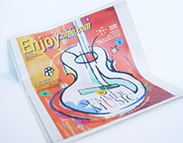 Illustration | Front Cover of Enjoy.Ohio.com Magazine