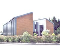 (Built) Kerlink Office Building  Rennes, FRANCE, '12
