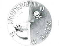 """coin design, title """"Alice in Wonderland"""""""
