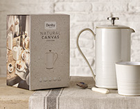 Denby Occasions packaging.