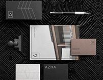 Azha brand design
