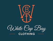 White Cap Bay Clothing - Branding