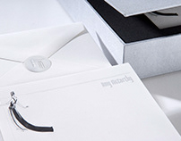 Special Event Stationary Set Packaging