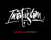Instagram Letters 7