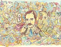 Illustrations on paper