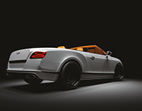 Bentley Continental GT - 3D Render
