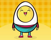 Kiri (Eggs Brand) - Character Design