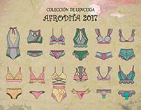 Colección de Lencería AFRODITA 2017