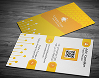 Honeycomb Business Card on Graphicriver