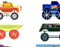 Dinomash Trucks