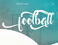 Football Brochure Design