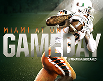 University of Miami Athletics GIF Dump