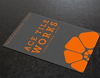Ace Tile Works • Branding & Collateral