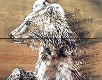 Bear 28 in x 18 in