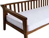 JUQUEÍ Sofa bed