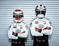 Porsche Formula E with André Lotterer and Neel Jani...