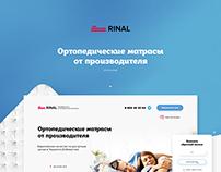 Rinal Landing Page