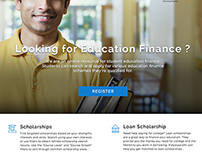 Registration Page - Education Finance