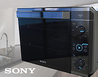 Electric oven - Horno eléctrico SONY