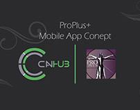 ProPlus | Mobile App Concept