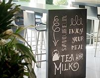 Visuels pour la nouvelle cafeteria du CAB à Prilly