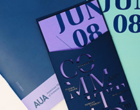 AUA Commencement Ceremony 2019 | Visual Identity