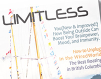Publication Design - LIMITLESS MAGAZINE