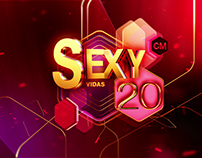 SEXY 20 CMTV | Motion Graphics | 2017