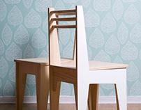 Angle chair