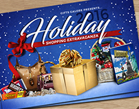 Holiday Shopping Extravaganza Flyer
