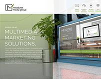Media Group Landing Page