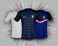 FRANCE National Team Nike Jerseys Concepts