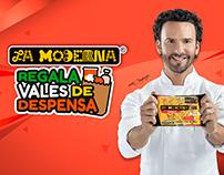 Promoción Nacional Pastas La Moderna