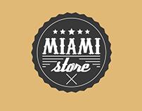 Logo design for Miami Store