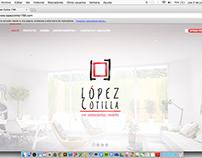López Cotilla 1790: Sitio web.