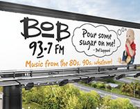 Bob 93.7 FM Billboard