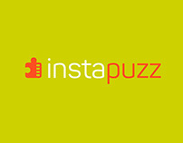Version of the logo for the application Instapuzz