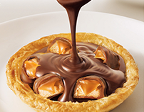 Esfihas de Chocolate - Habib's