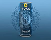 VUKA Sparkling Energy Drink