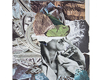 Collage on paper / Colagem em papel