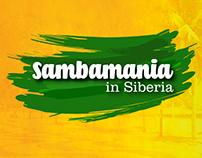 Sambamania in Siberia. Dance event